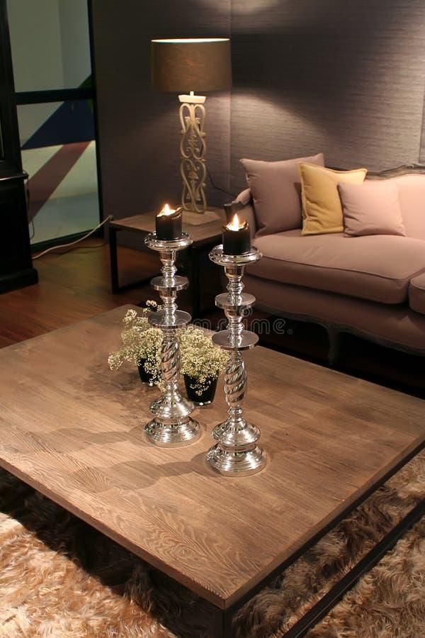 Interior home acolhedor imagens de stock royalty free