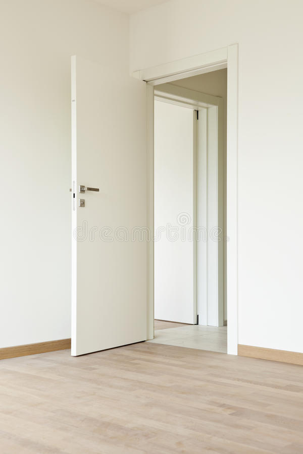 Interior home door stock photography image 28674222 for Porte interieur renovation