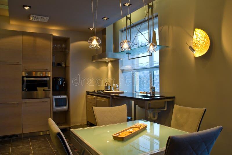 Interior Home moderno imagem de stock
