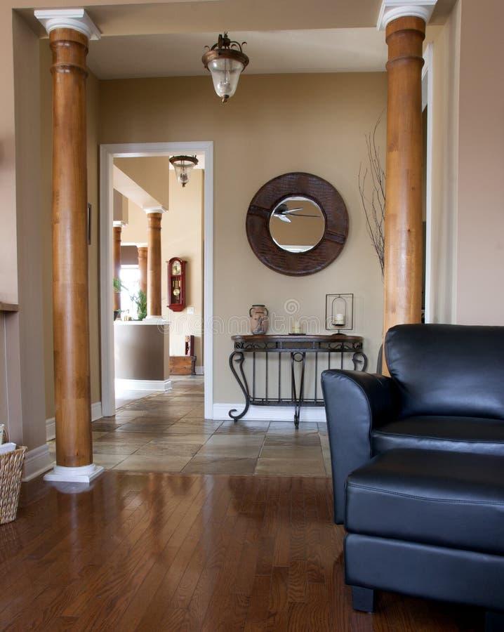Interior home terminado costume fotografia de stock royalty free