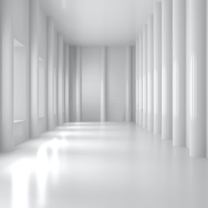 Interior Home vazio ilustração do vetor