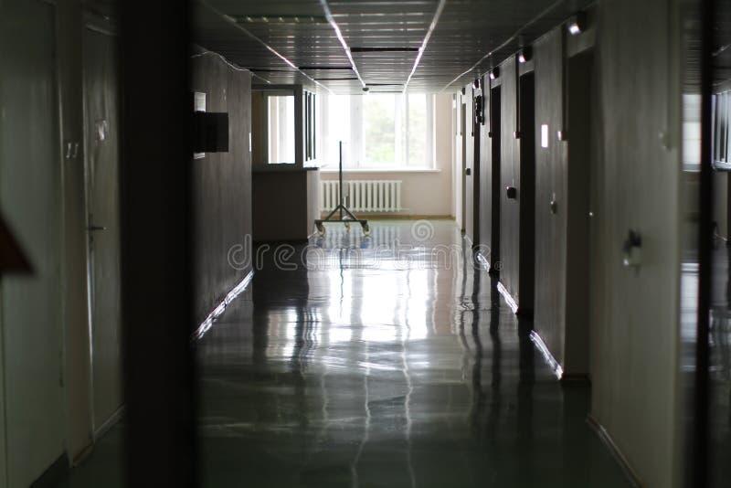 Interior of the hospital royalty free stock photo