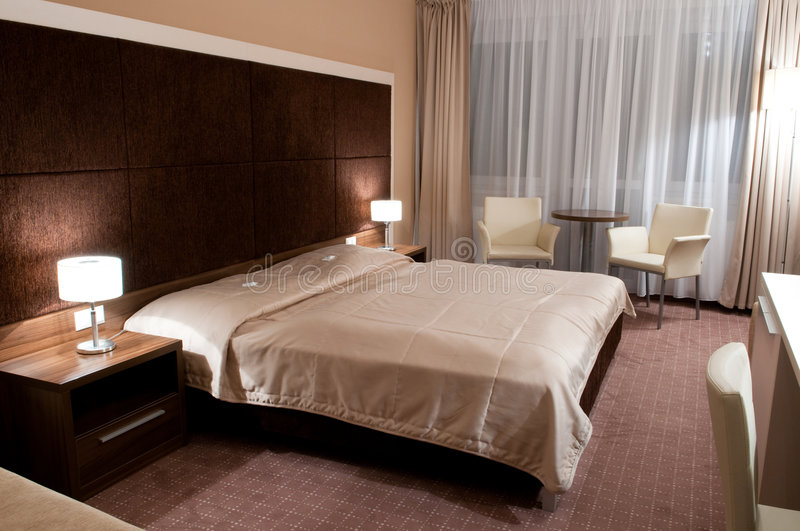 Download Interior of a hotel room stock image. Image of comfortable - 8416967