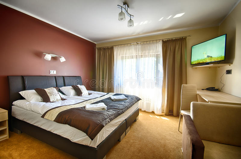 Interior hotel room royalty free stock images