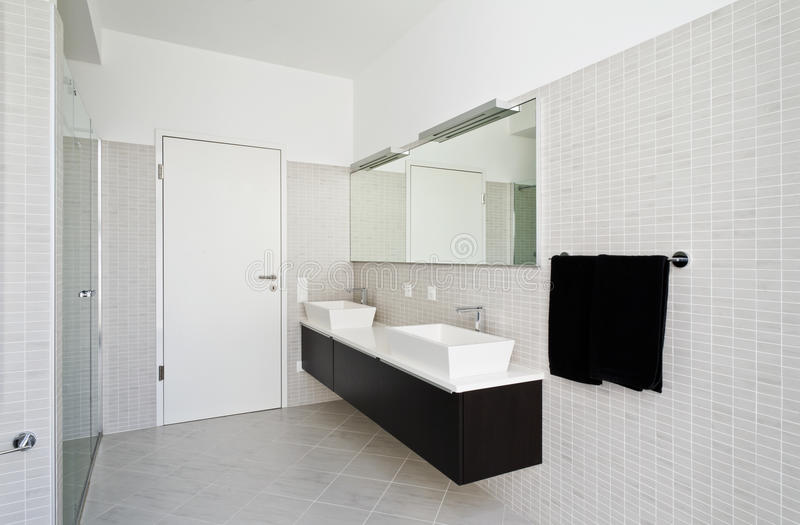 Download Interior house, bathroom stock image. Image of clean - 26974755