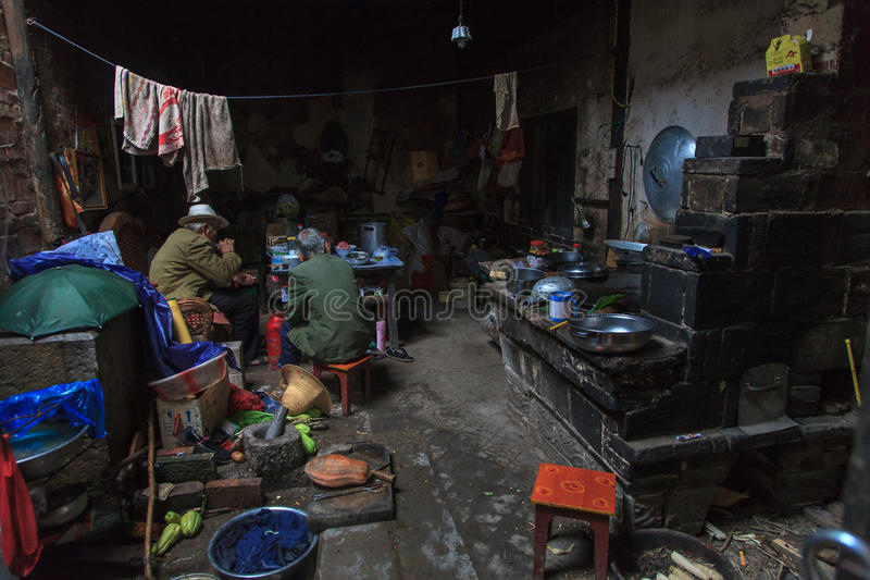 Download Interior Of A House In The Slums Editorial Stock Image - Image: 33557524