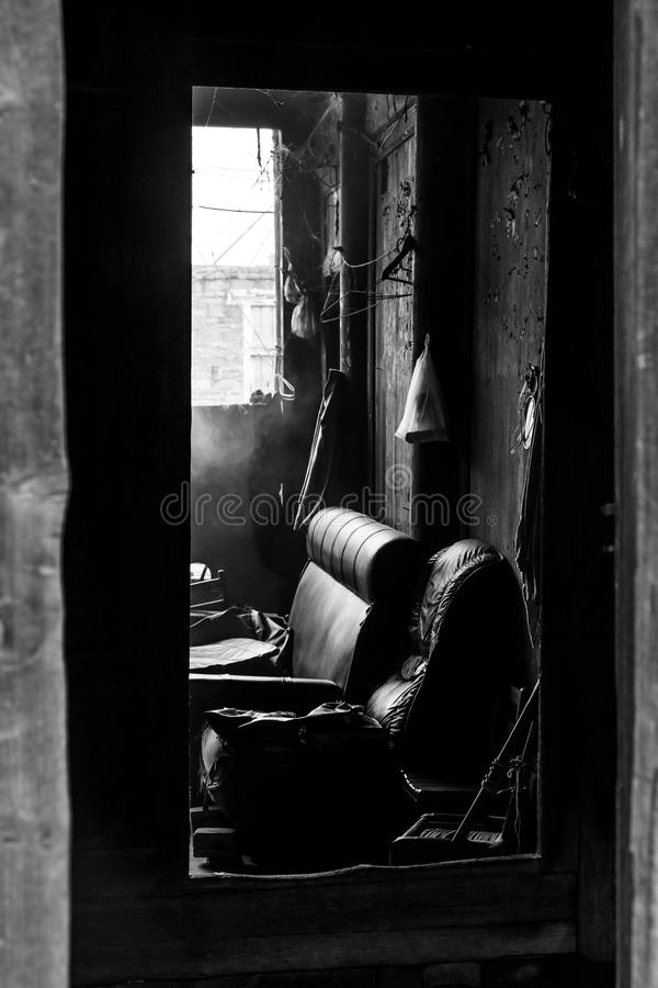 Download Interior Of A House In The Slums Stock Photo - Image: 33557546
