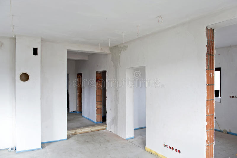 Interior inacabado fotos de archivo libres de regalías