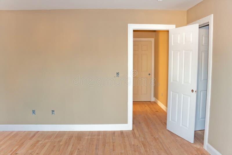 Interior inacabado da sala home fotografia de stock royalty free