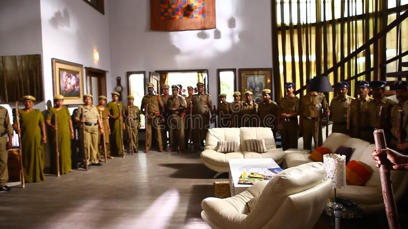 interior of indian police station