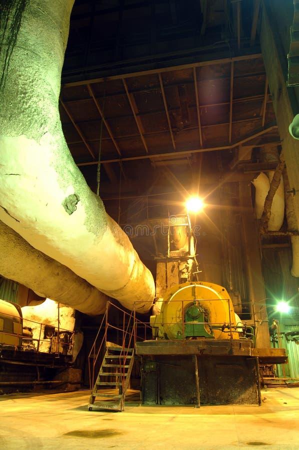 Interior industrial foto de archivo libre de regalías