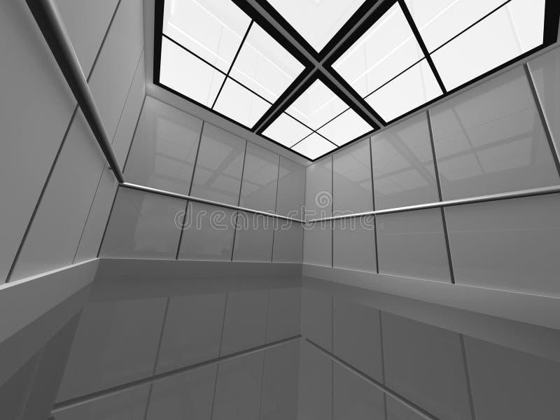 Interior industrial ilustração stock