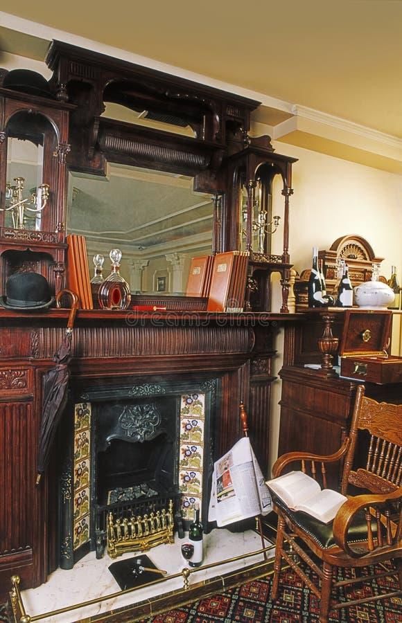 Interior inglés fotos de archivo