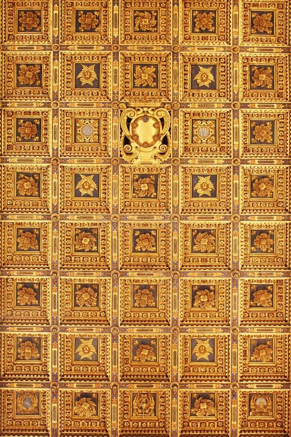 Interior Italia de la catedral de Pisa fotografía de archivo