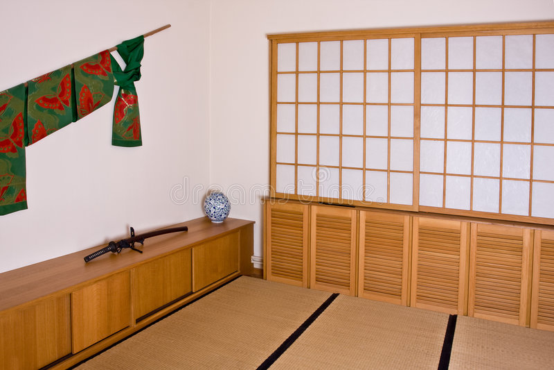 Interior japonês fotos de stock royalty free