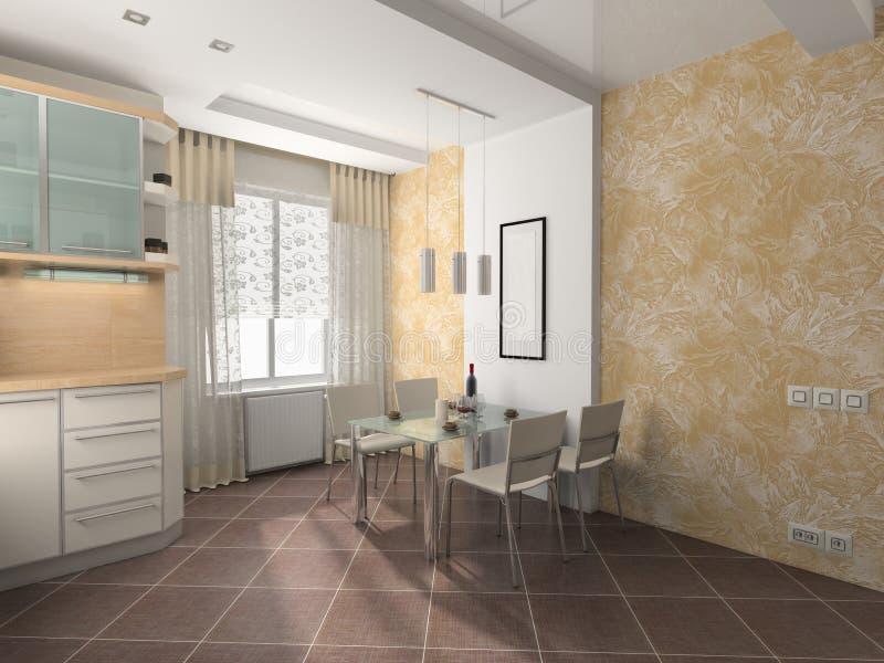 Download Interior of kitchen stock image. Image of floor, furniture - 13152151