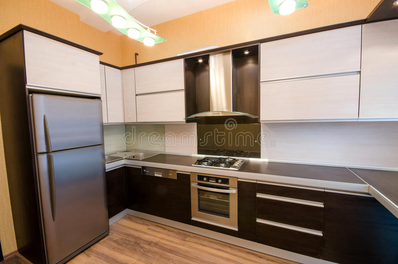 Download Interior of   kitchen stock image. Image of appliance - 29670735