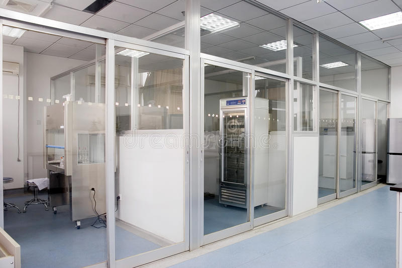 Interior of lab royalty free stock photography