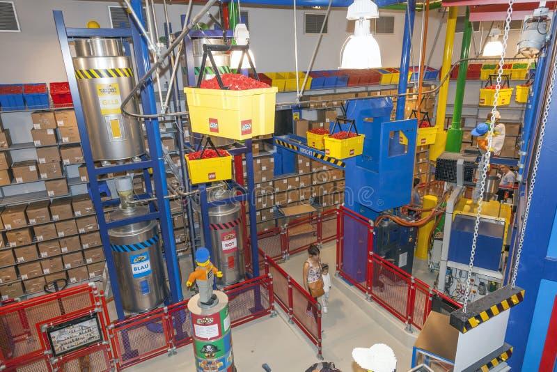 Interior Of The Lego Factory In Legoland Editorial Stock Image ...