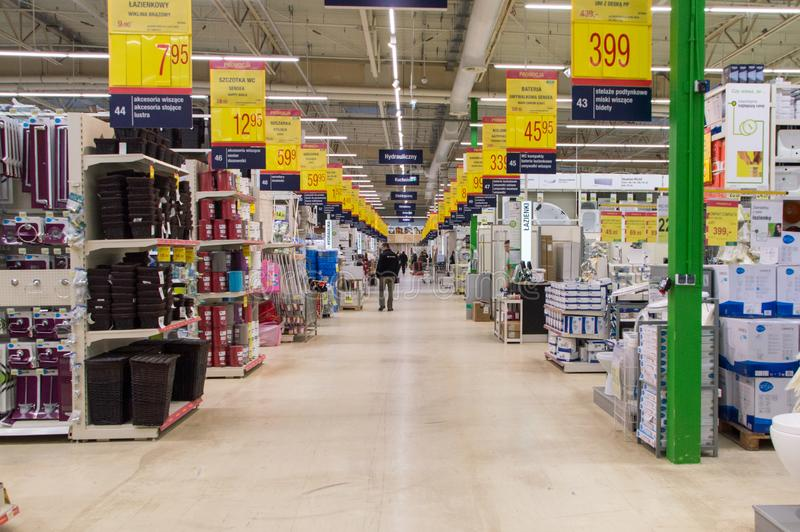 Download The Interior Of Leroy Merlin Store Editorial Stock Photo Image Of.