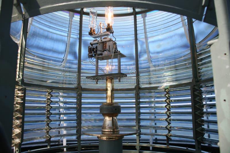 Interior Lighthouse Lantern stock photos