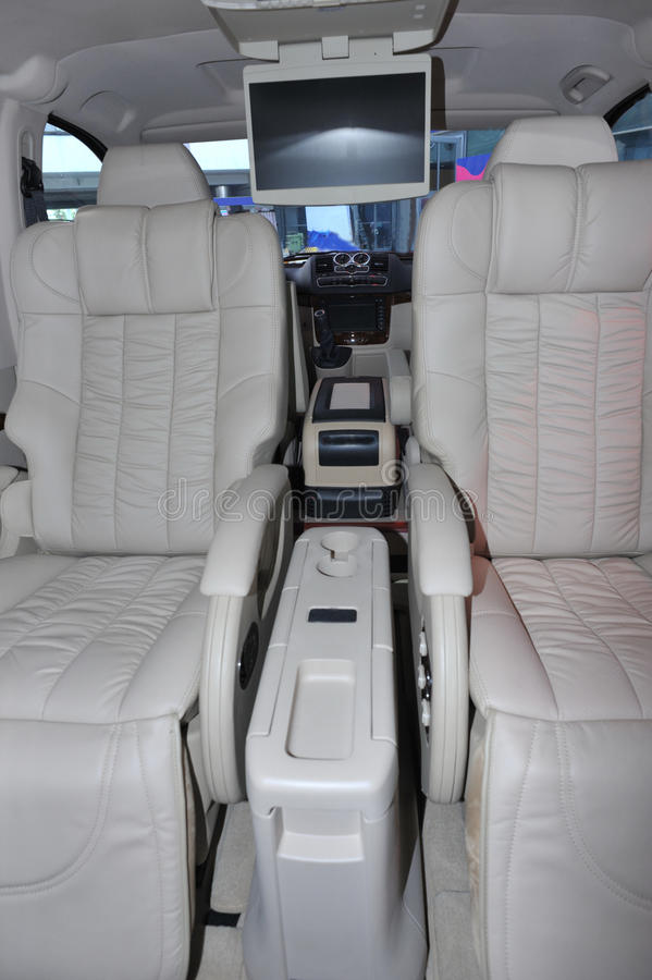 interior of limo stock photos