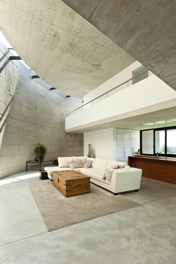 Interior, living room stock images