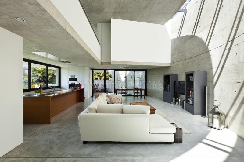 Interior, living room royalty free stock photography