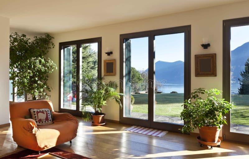 Interior, living room royalty free stock photo