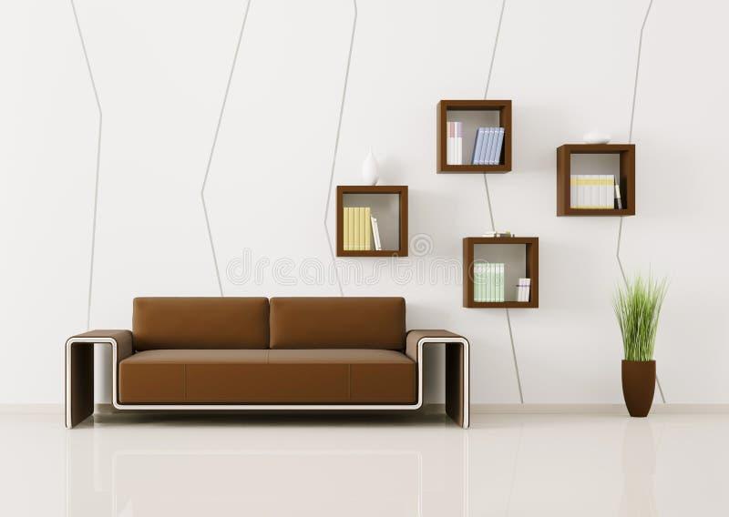 Download Interior Of Living Room 3d Render Stock Illustration    Illustration Of Book, Decor: