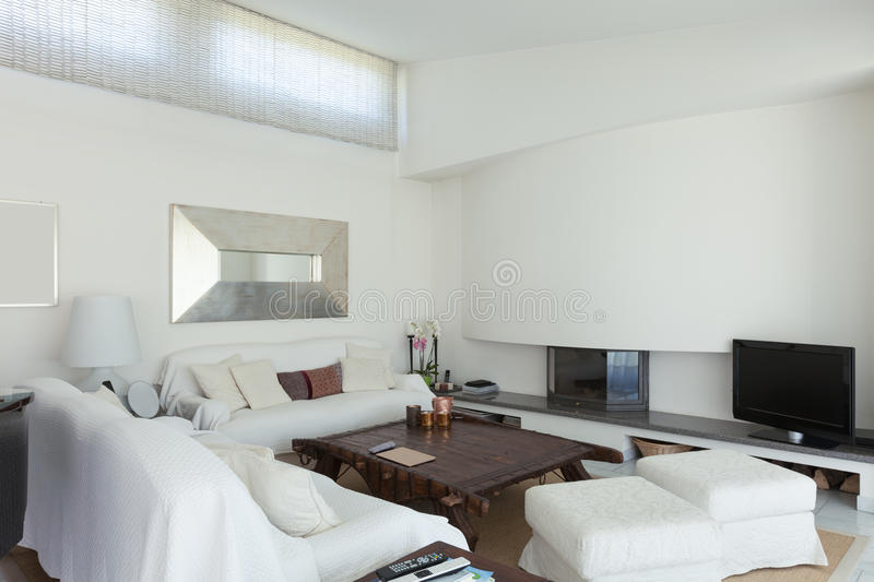 Interior, living room royalty free stock images