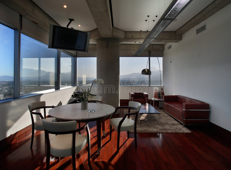 Interior luxuoso fotos de stock royalty free