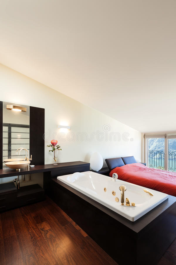 Interior luxury apartment royalty free stock image