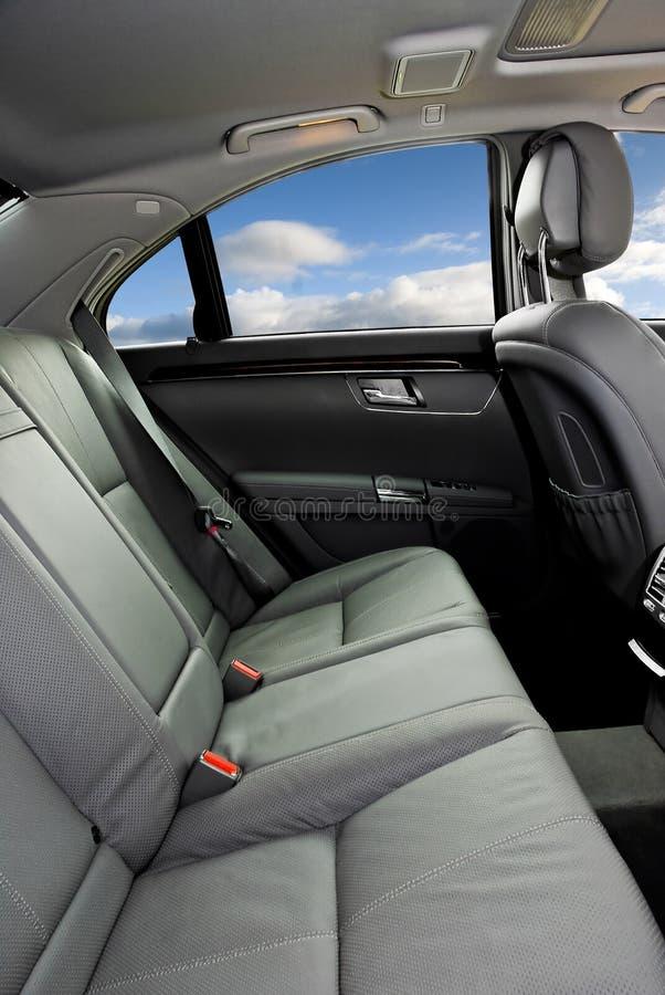 Interior Of Luxury Car Stock Images