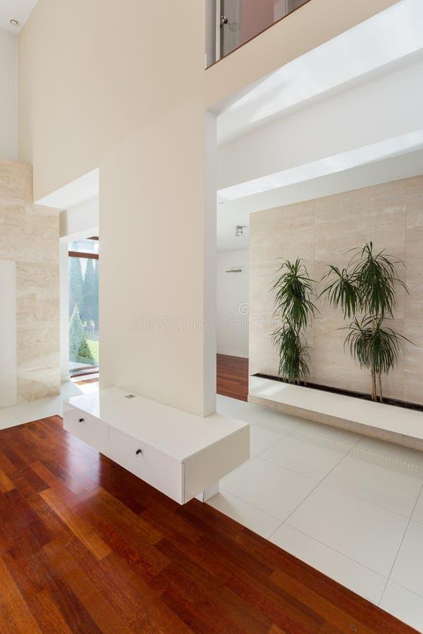 Interior of luxury residence stock image