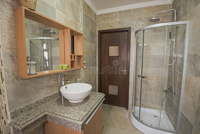 download interior of a luxury show home bathroom stock image image 66590111 - Inside Luxury Homes Bathroom