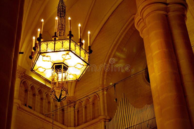 Interior Malta de la iglesia foto de archivo libre de regalías