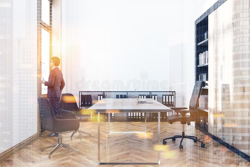 Lovely Download Manager Office Interior Toned Stock Image   Image Of Copy,  Architecture: 114901395