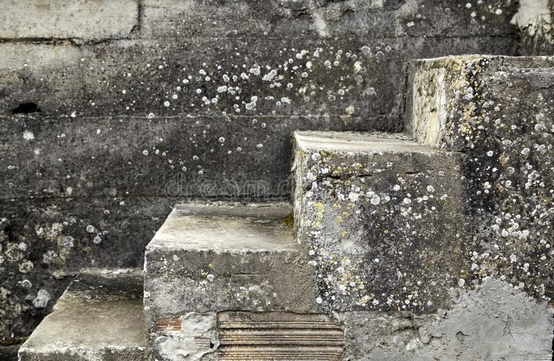 Interior marble stairs stock image