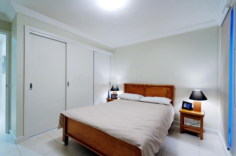 Interior Of Master Bedroom Royalty Free Stock Images