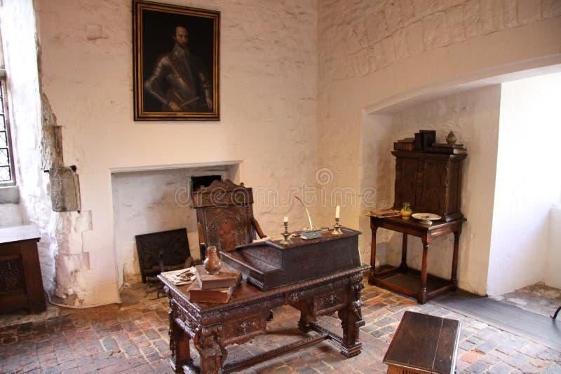 Interior medieval imagens de stock royalty free