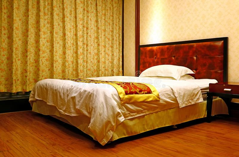 Hotel room in guangzou, china royalty free stock image