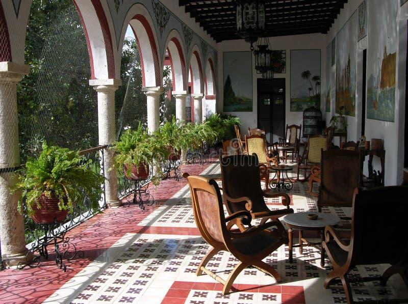 Interior mexicano foto de archivo libre de regalías