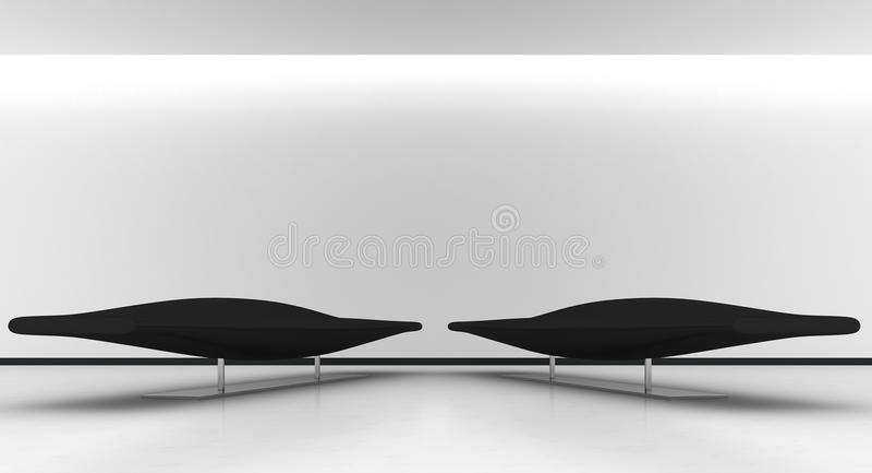 Interior minimal vector illustration