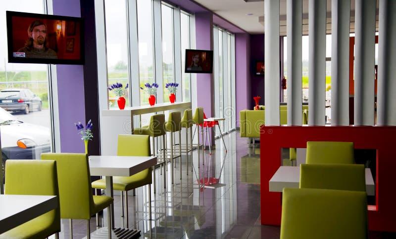 Interior of modern bar royalty free stock photo