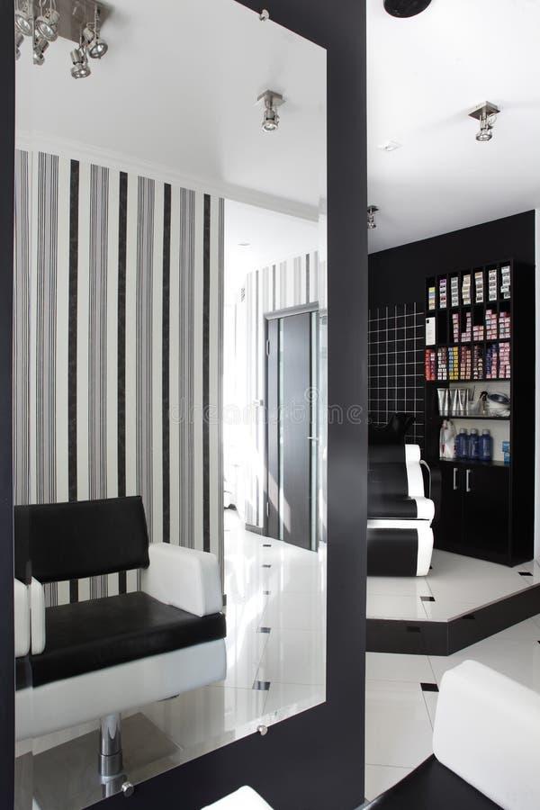 Interior of modern beauty salon stock photo image 30858042 for Photo salon moderne