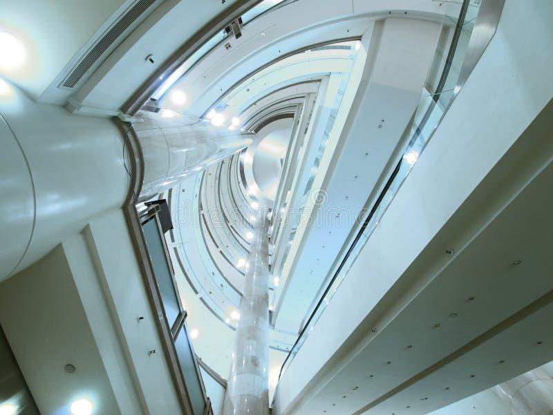 Interior of modern building stock photos