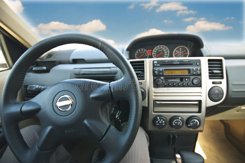 Download Interior of a modern car stock image. Image of gearshift - 7368857