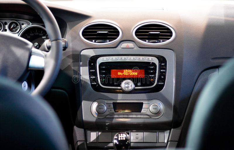 Download Interior of a modern car stock image. Image of dashboard - 8280871