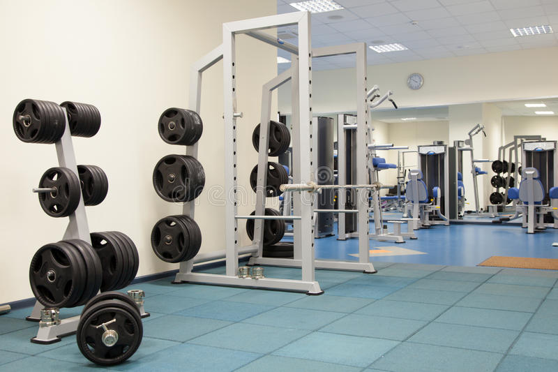 Download Interior Of A Modern Gym Royalty Free Stock Photo - Image: 28572475
